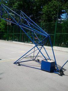 pokretna kosarkaska konstrukcija